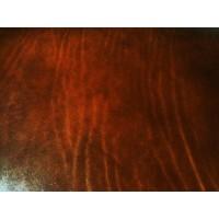 Ceinture homme artisanales en cuir Cognac tannage végétal de 3 cm