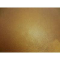 Ceinture jean homme artisanale en cuir Camel tannage végétal de 4 cm